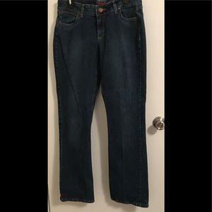 Wrangler Premium Patch Jeans Sz 7/8 x 34 EUC